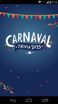 Carnaval Trivia 2015 poster