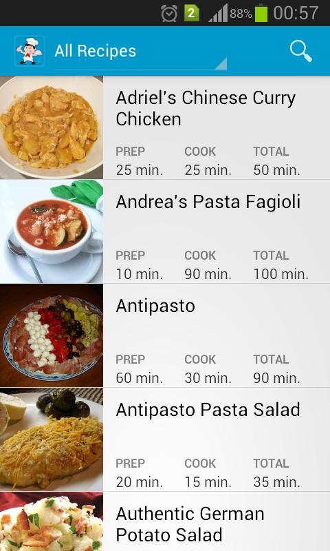 Exotic Recipes For Android Apk Download
