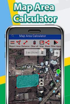 Map Area Calculator screenshot 1