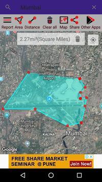 Map Area Calculator screenshot 2