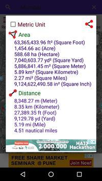 Map Area Calculator screenshot 3