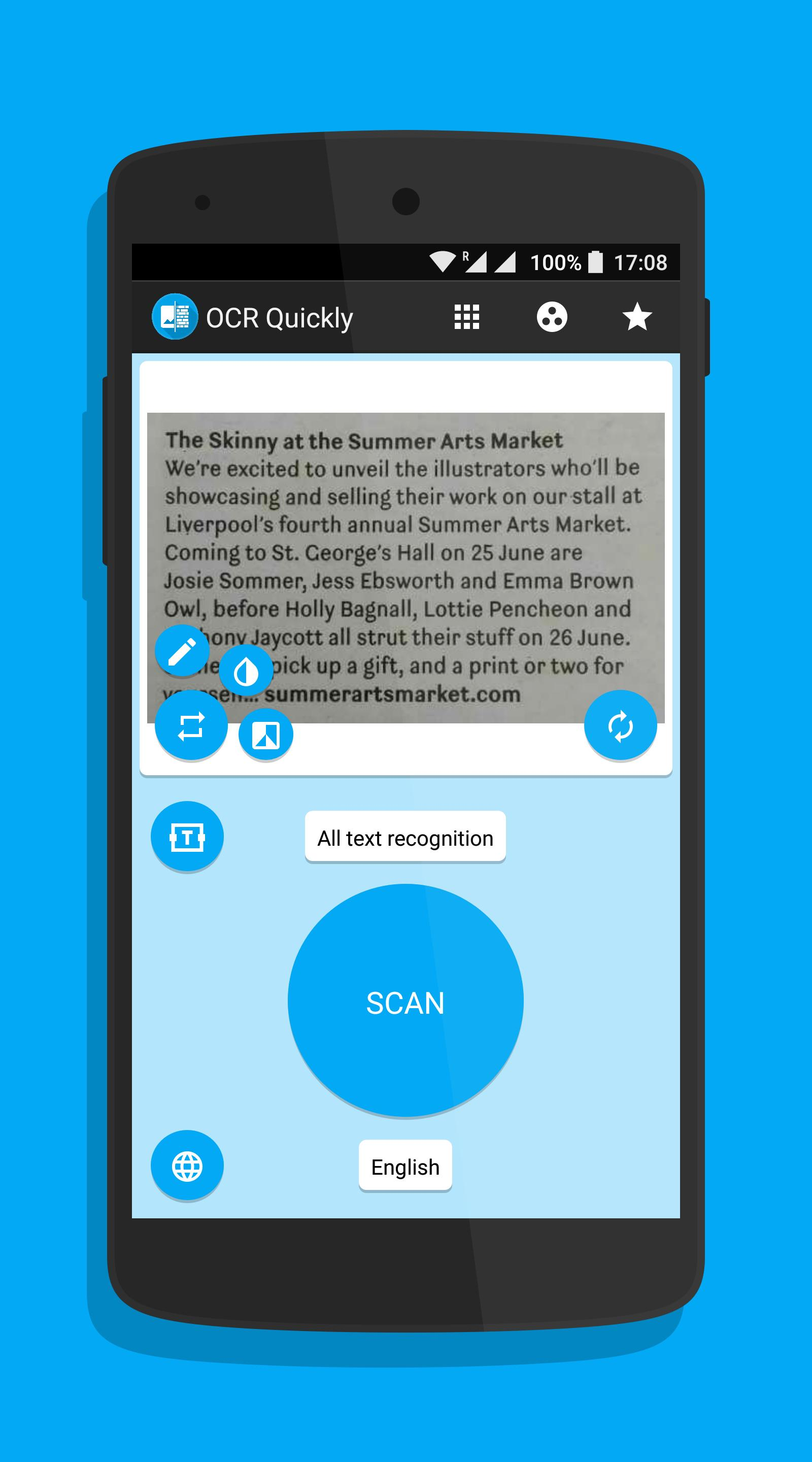 OCR Quickly - Text Scanner for Android - APK Download
