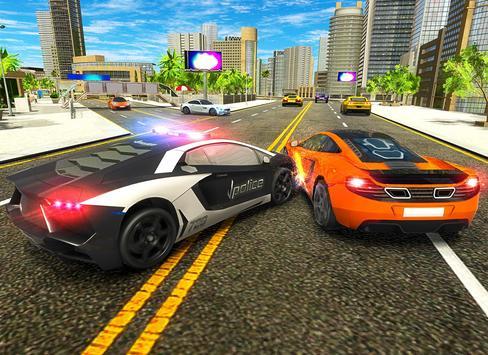 Police Chase Car Drift Drive Simulator 2018 screenshot 19