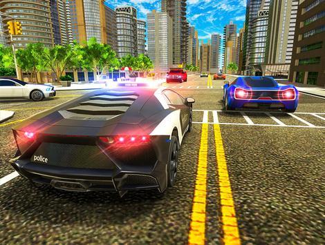 Police Chase Car Drift Drive Simulator 2018 screenshot 11
