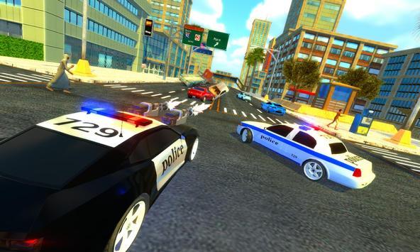 Police Chase Car Drift Drive Simulator 2018 screenshot 2