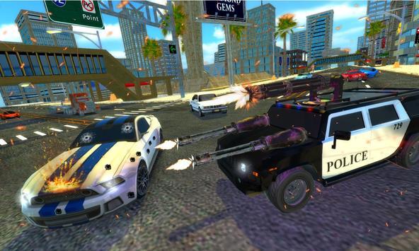 Police Chase Car Drift Drive Simulator 2018 screenshot 8