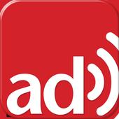 adzy: the QR code for radio icon