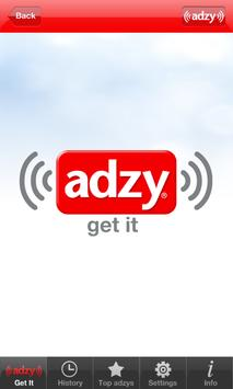 adzy: the QR code for radio poster