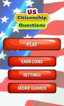US Citizenship Questions poster