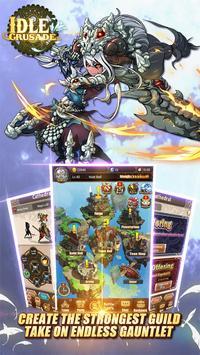 Idle Crusade apk screenshot