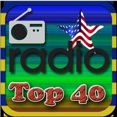 US Top 40 FM Radio Station Online icon