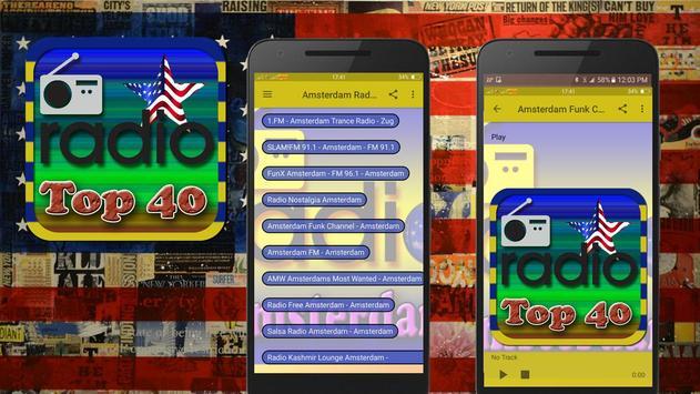 US Top 40 FM Radio Station Online poster