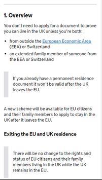 UK Residence Card Apply poster