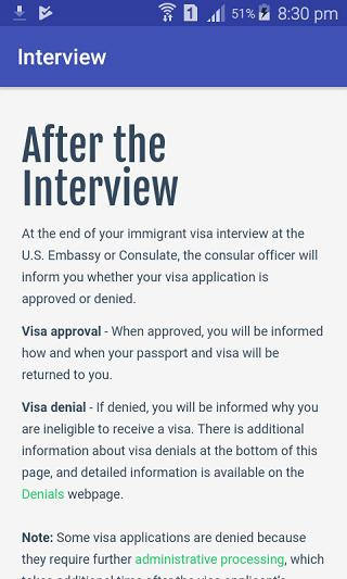 US DV Lottery Interview for Android - APK Download