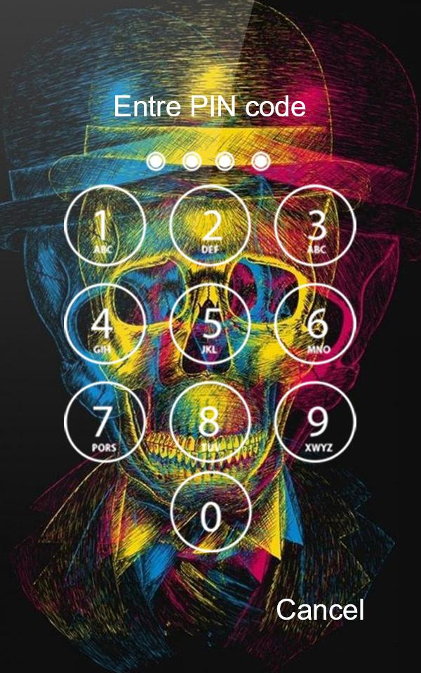 Neon Skull Game Lock Screen Wallpaper Hd For Android Apk