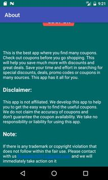 Coupons for Oakley screenshot 3