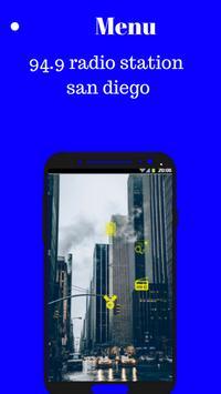 94.9 radio station san diego california app poster