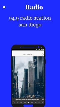 94.9 radio station san diego california app screenshot 2