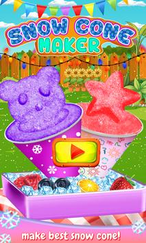 Snow Cone Simulator-Make Rainbows and Snow Cones poster
