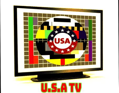 Guide USA TV channels poster