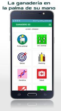 GANADERO App poster