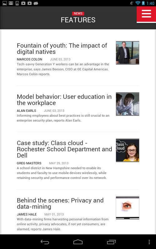 SC Magazine Descarga APK - Gratis Empresa Aplicación para Android ...