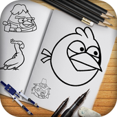 Learn To Draw Angry Birds icon