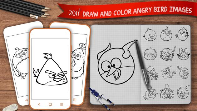 Learn To Draw Angry Birds poster