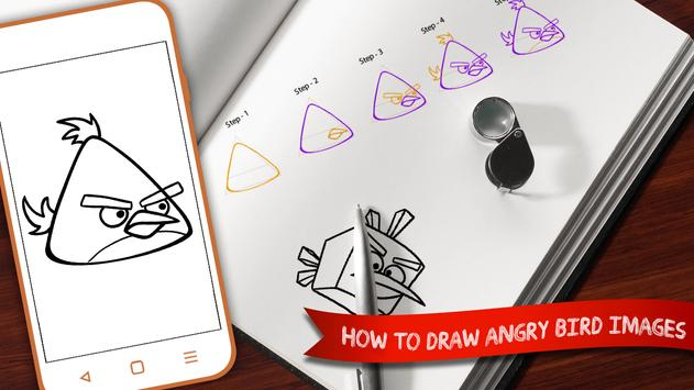 Learn To Draw Angry Birds screenshot 3