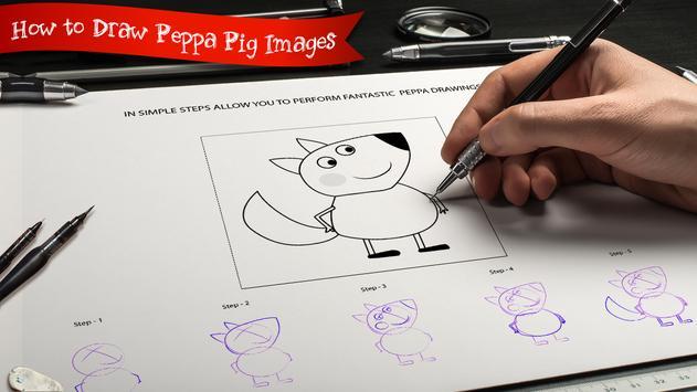 Learn to Draw Peppa & Pig screenshot 2