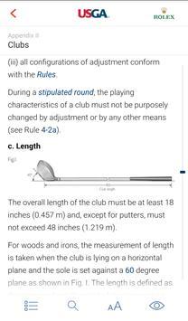 2018 Rules of Golf screenshot 4
