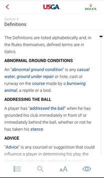 2018 Rules of Golf screenshot 3