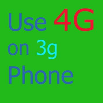 Use 4g on 3g phone guide poster