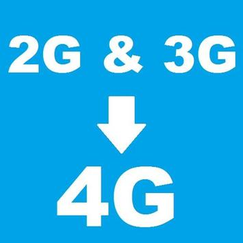 4g on 3g phone VoLTE poster