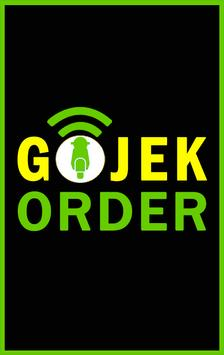 How to Order GOJEK Guide poster