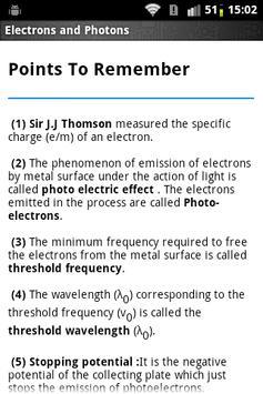 Physics Pro Electrons Photons screenshot 1