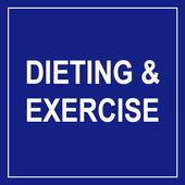 Dieting and Exercise icon
