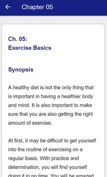 Dieting and Exercise screenshot 20