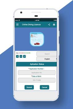 Driving Licence Online -India screenshot 1