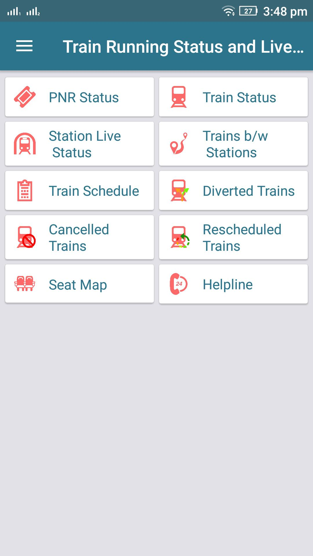 Live Train Status, PNR Status : Indian Rail Info for Android - APK