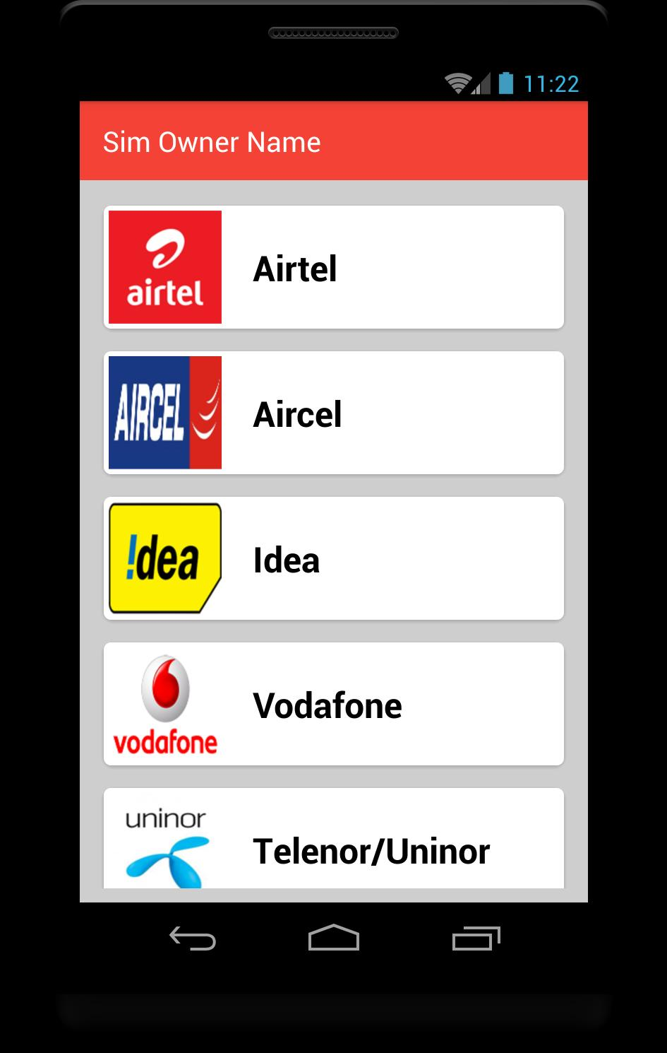 How to know sim owner name for Android - APK Download