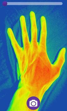 Thermal Camera HD Effect poster