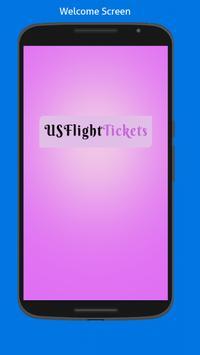US Flight Tickets poster