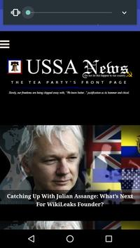 USSA News poster
