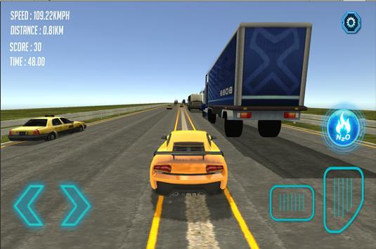 Traffic Racer : Highway Racing poster