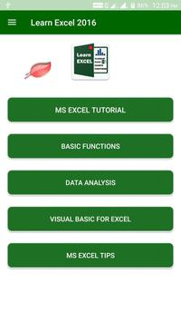 Excel 2016 Assistant poster