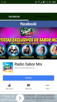 Radio Sabor Mix screenshot 2