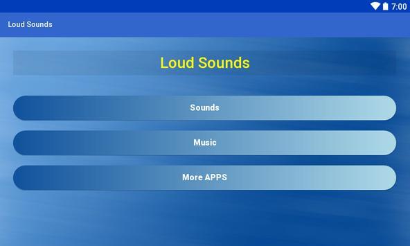 Loud Sounds apk screenshot