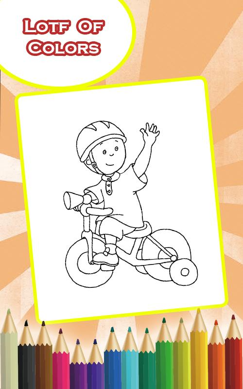 Caillou Coloring Pages for Android APK Download