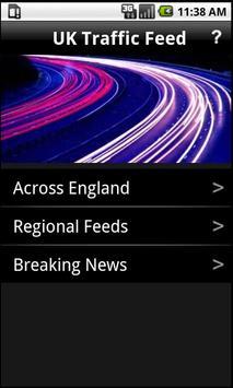 UK Traffic Feeds poster